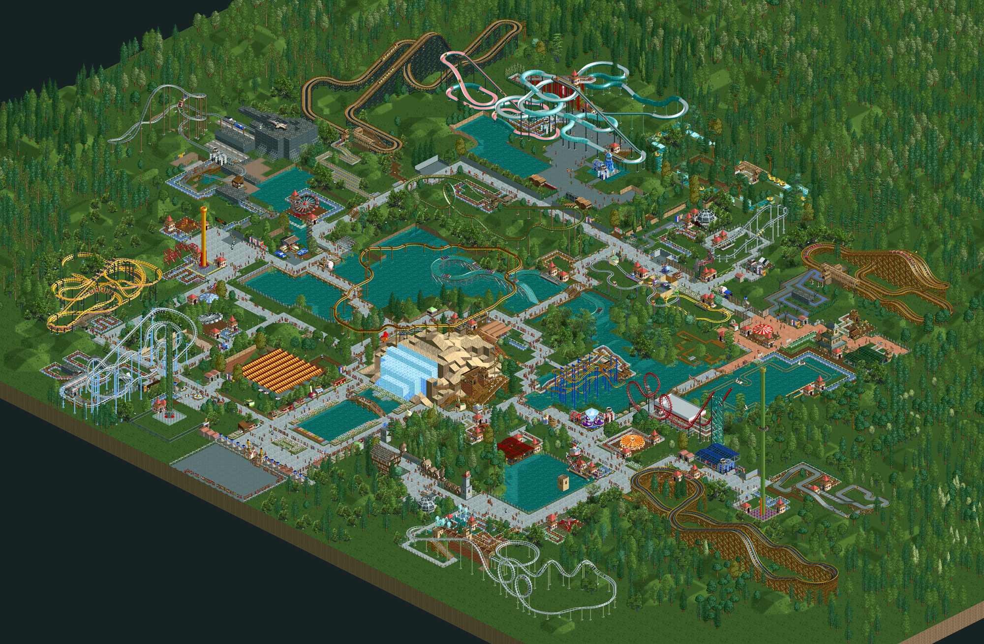 Map Of Canadas Wonderland 2017.Wonderland